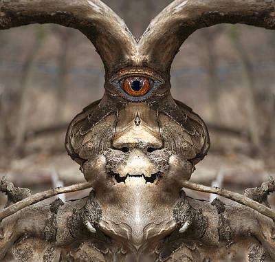 Digital Art - Woody 107 by Rick Mosher