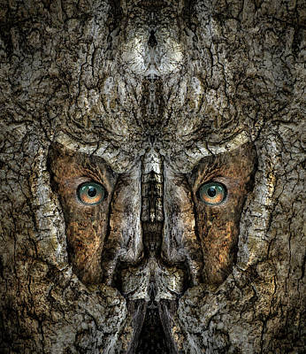 Digital Art - Woody 212 by Rick Mosher