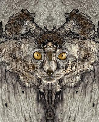 Digital Art - Woody 220 by Rick Mosher