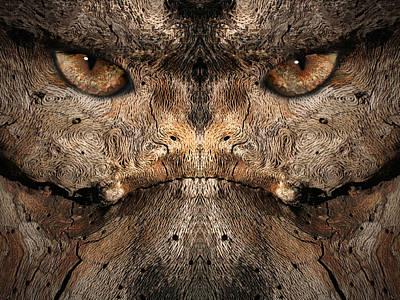 Digital Art - Woody 86 by Rick Mosher