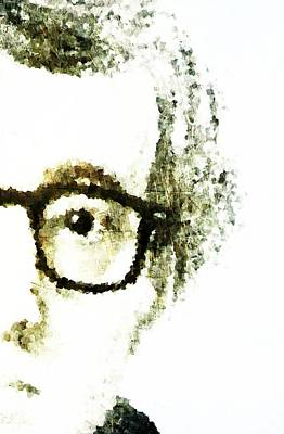 Woody Allen Digital Art - Woody by Andrea Barbieri