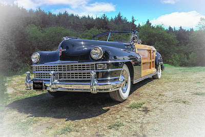 Photograph - Woody  Chrysler by Bill Posner