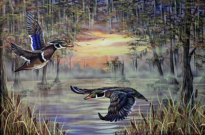 Painting - Woody Morning by Kimberly Blaylock