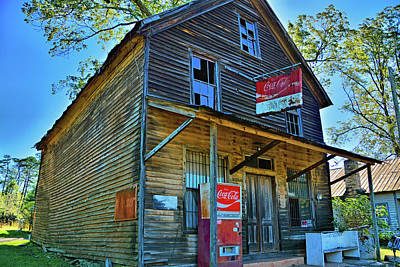 Photograph - Woodys Country Store by Ben Prepelka
