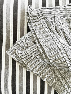 Baby Wool Photograph - Wool Throw by Tom Gowanlock