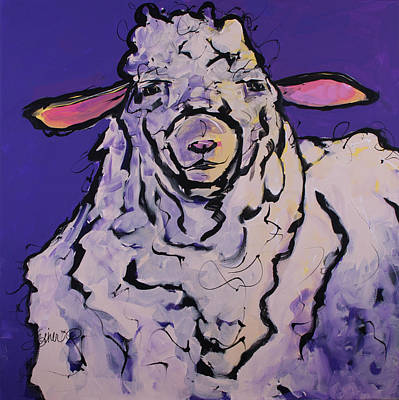 Painting - Wooley by Terri Einer