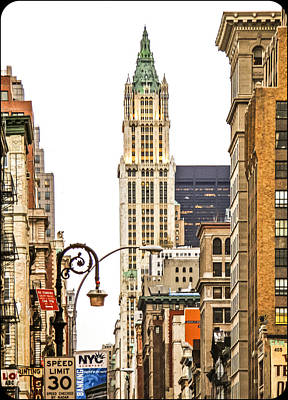Woolworth Building Iv Art Print