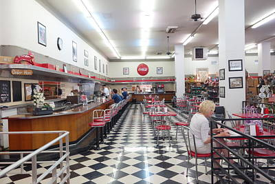 Photograph - Woolworth's Bakersfield Interior by Matthew Bamberg