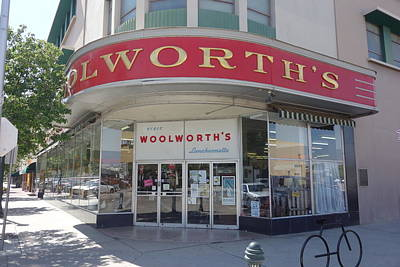 Photograph - Woolworth's Bakersfield by Matthew Bamberg