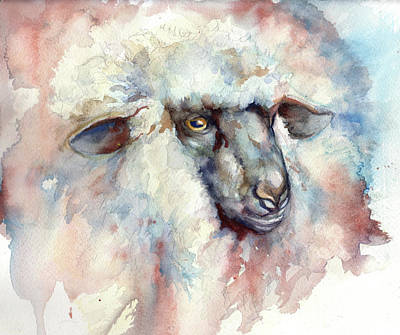 Painting - Wooly II by Peggy Wilson