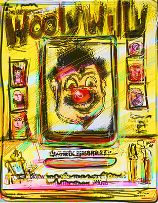 Wooly Willy Art Print