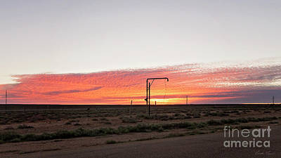 Photograph - Woomera Sunset by Linda Lees