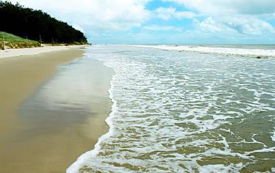 Photograph - Woorim Beach At High Tide by Susan Vineyard