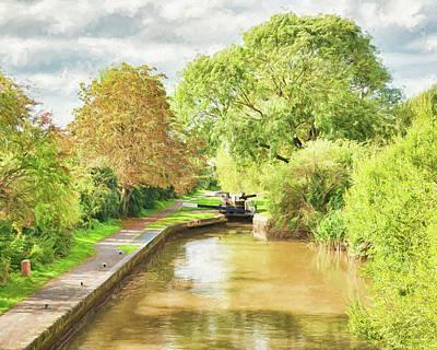 Worcester Canal 2 Art Print
