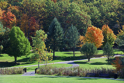 Photograph - Worcester Green Hill Park by Juergen Roth
