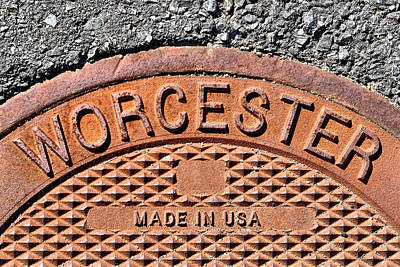 Photograph - Worcester Made In Usa by Luke Moore
