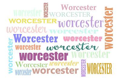 Digital Art - Worcester Massachusetts by Peggy Collins