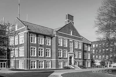 Worcester Polytechnic Institute Higgins Hall Art Print