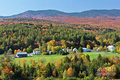Photograph - Worcester Vermont Autumn by Alan L Graham