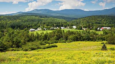 Photograph - Worcester Vermont Summer by Alan L Graham