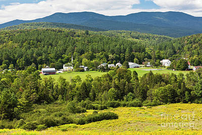 Photograph - Worcester Vermont Summer Scenic by Alan L Graham