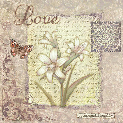 Word 1 Love Art Print