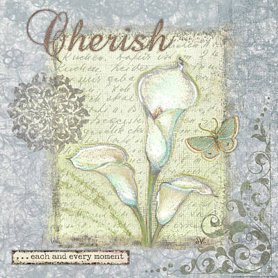 Word 2 Cherish Art Print