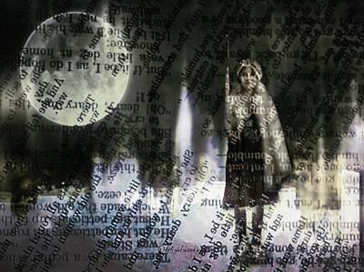 Digital Art - Word Warrior by Delight Worthyn
