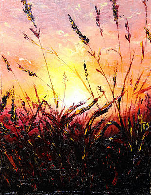 Painting - Words Like Fire by Meaghan Troup