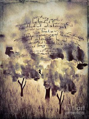 Words Matter Art Print