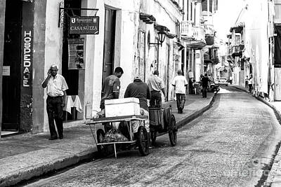 Photograph - Work Day In Cartagena by John Rizzuto