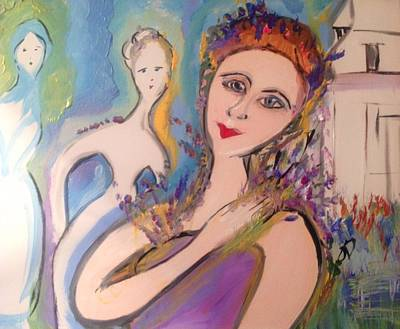 Painting - Work In Progress by Judith Desrosiers