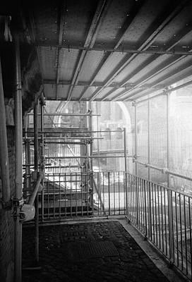 Photograph - Work In Progress Under The Ruins by Nacho Vega