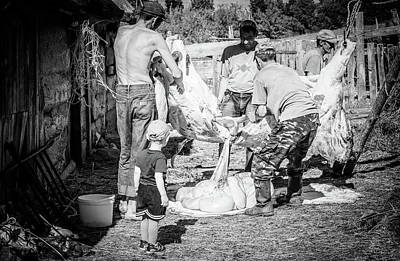 Photograph - Work Of Butchery by John Williams