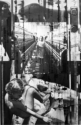Little Girl Mixed Media - Work The Innocence Out by Kalynn Kallweit