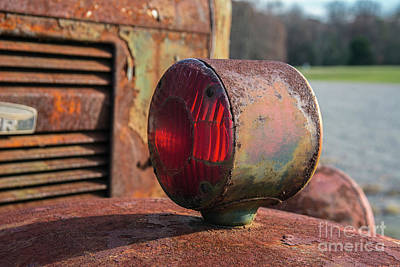 Photograph - Work Truck Detail by Terry Rowe