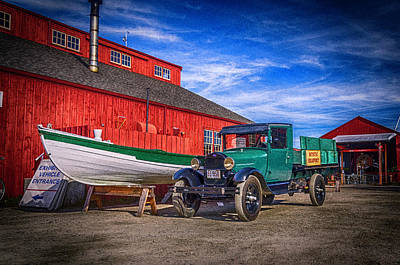 Photograph - Work Truck, Mystic Seaport Museum by Dutch Ducharme