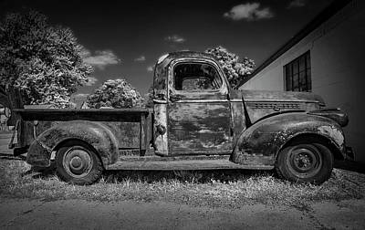 Photograph - Work Truck by Ray Congrove