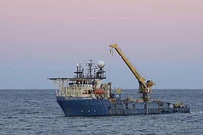 Photograph - Work Vessel Texas Horizon by Bradford Martin