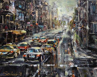 Painting - Workday by Stefano Popovski