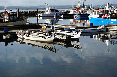 Photograph - Working Boats by Chris Day