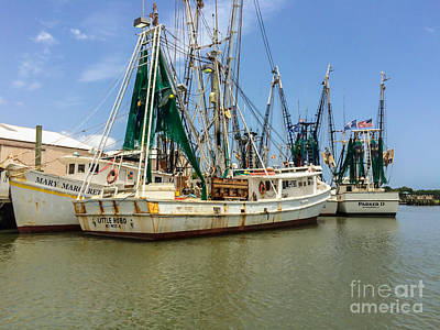 Photograph - Working Boats In Mccellanville by Dale Powell