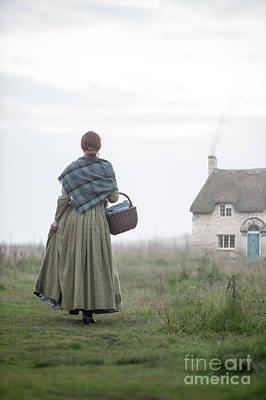 Photograph - Working Class Victorian Woman by Lee Avison