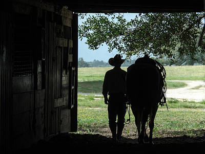 Photograph - Working Cowboy by Pam Kaster