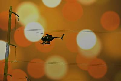 Helicopter Mixed Media - Working by Elizabeth Celio
