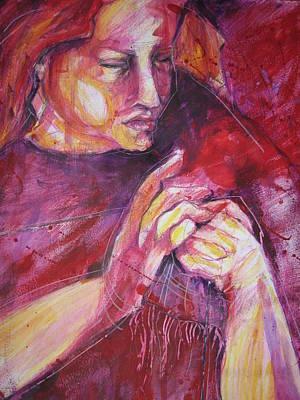 Working Hands Original by Brigitte Hintner