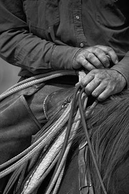 Photograph - Working Hands by Crystal Nederman