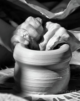 Photograph - Working Hands by Kerri Farley