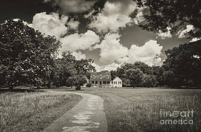 Photograph - Working Plantation And Country Estate by Dale Powell