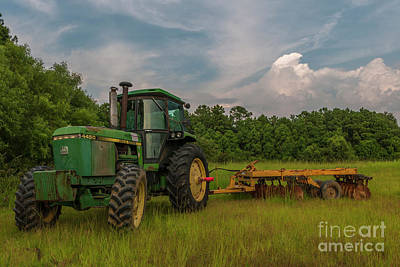 Photograph - Working The Fields by Dale Powell